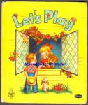Click here to enlarge image and see more about item RCB033011a016: Let's Play TELL-A-TALE BOOK 1952
