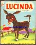 LUCINDA THE LITTLE DONKEY Elf Book 1952