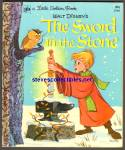 Disney THE SWORD IN THE STONE Little Golden Book