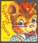BOBBY BEAR Cute and Cuddly Diecut Shape BOOK 1950