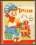 Click here to enlarge image and see more about item RCB10710A005: TOYLAND - Scarce Bonnie Book -1953
