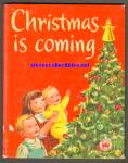 Click here to enlarge image and see more about item RCB10910A013: Christmas is Coming 1952 Wonder Book #593