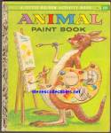 ANIMAL PAINT BOOK - Little Golden Activity Book
