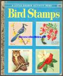 BIRD STAMPS -  Little Golden Book - 1955