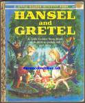 HANSEL AND GRETEL Little Golden Activity Book - Paper Dolls