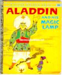 Click here to enlarge image and see more about item RCB40210A046: ALADDIN AND HIS MAGIC LAMP - Little Golden Book