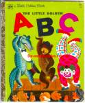 Click here to enlarge image and see more about item RCB40210A048: LITTLE GOLDEN ABC  BOOK Little Golden Book