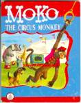 Click here to enlarge image and see more about item RCB40210A054: MOKO THE CIRCUS MONKEY Jolly Book #202 - 1952