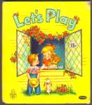 Click here to enlarge image and see more about item RCB71910A005: Let's Play TELL-A-TALE BOOK 1952