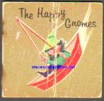THE HAPPY GNOMES 1963 Miniature Book - Golden Press