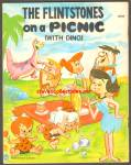 THE FLINTSTONES ON A PICNIC - With Dino BOOK
