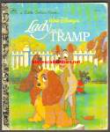 Walt Disney LADY AND THE TRAMP - Little Golden Book