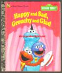 HAPPY AND SAD, GROUCHY AND GLAD Little Golden Book