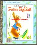 THE TALE OF PETER RABBIT Little Golden Book