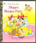 Minnie's Slumber Party - Little Golden Book