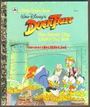 DUCK TALES SECRET CITY UNDER THE SEA Little Golden Book