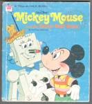 Click here to enlarge image and see more about item RCHBK12210A022: Disney MICKEY MOUSE and the REALLY NEAT ROBOT - Tell-A-Tale Book