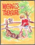 MICHAELS TREASURE Whitman Tiny Tot Tales Book - 1969