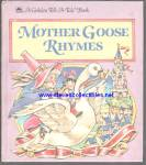 Click here to enlarge image and see more about item RCHBK12310A030: MOTHER GOOSE RHYMES - Tell-A-Tale Book