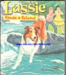 Click here to enlarge image and see more about item RCHBK12310A034: LASSIE FINDS A FRIEND Tell-A-Tale Book #2571