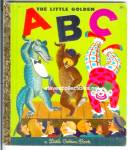 Click here to enlarge image and see more about item RCHBK20810A029: LITTLE GOLDEN ABC  BOOK Little Golden Book