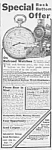 Click here to enlarge image and see more about item RR0524AA4: 1911 RAILWAY POCKET WATCH Train Ad