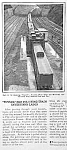Click here to enlarge image and see more about item RR0815D5: 1927 TRAIN CLEANING TUNNEL Mag. Article