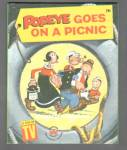 POPEYE GOES ON A PICNIC Wonder Book