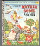 MORE MOTHER GOOSE RHYMES - Little Golden Book