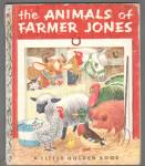 ANIMALS OF FARMER JONES Little Golden Book - Scarry