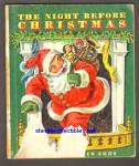 Click here to enlarge image and see more about item SCB4510A014: THE NIGHT BEFORE CHRISTMAS - Little Golden Book