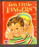 TEN LITTLE FINGERS Book of Finger Plays-Treasure Book