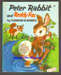 Click here to enlarge image and see more about item SCB4910A073: PETER RABBIT AND REDDY FOX Wonder Book #611