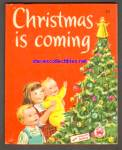 Click here to enlarge image and see more about item SCB4910A077: Christmas is Coming 1952 Wonder Book #593