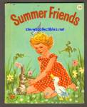Click here to enlarge image and see more about item SCB4910A092: SUMMER FRIENDS - Wonder Book #739