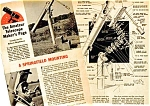 Click here to enlarge image and see more about item SCI0122A2: 1957 BUILD A SPRINGFIELD TELESCOPE MOUNTING Mag Article