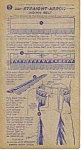 Click here to enlarge image and see more about item SV0402D5-2006: 1950 NABISCO SHREDDED WHEAT COLLECTOR Card!!