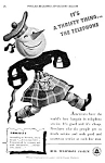 Click here to enlarge image and see more about item TEL0122A5: 1939 BELL TELEPHONE Old '202' Phone Ad