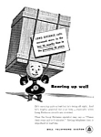 1944 BELL TELEPHONE Old '202' Phone Ad