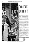 Click here to enlarge image and see more about item TEL0122AA4: 1934 BELL TELEPHONE Old '202' Phone Ad