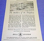 Click here to enlarge image and see more about item TEL821A1: 1926 AT&T TELEPHONE Phone Ad