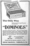 Click here to enlarge image and see more about item TO0612J: 1897 Domino CIGAR BOX Magazine Ad