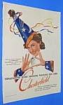 Click here to enlarge image and see more about item TON707AA2: 1940 WIZARD THEME Chesterfield Cigarette Ad