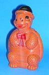 Click here to enlarge image and see more about item TOY1016A1: Cool 1960s Hard Plastic TURTLE TOY BANK