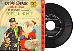 Click here to enlarge image and see more about item TV0402A1-2006: 1959 CAPTAIN KANGAROO Childs Record - Sleeve