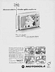Click here to enlarge image and see more about item TV0628AA1: 1966 SANTA CLAUS Theme Motorola TV Ad
