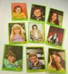 1971 PARTRIDGE FAMILY 12 Green Portrait Cards Lot 4