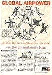 Click here to enlarge image and see more about item TY0422AA1: 1957 Revelle AIRPLANE MODEL KIT Magazine Ad