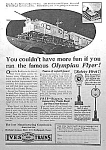 Click here to enlarge image and see more about item TY0518A2: 1926 IVES TRAIN Toy Ad FULL PG.