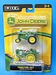 Click here to enlarge image and see more about item TY1021A1-2007: Ertl JOHN DEERE Farm Tractor Set - Diecast Toys